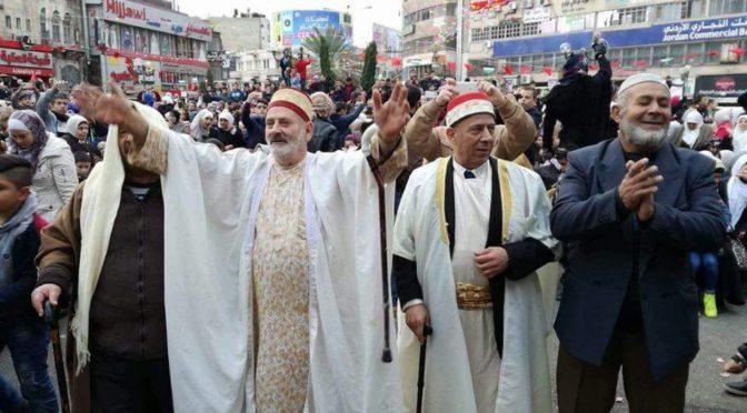 Palestinian Christians Defy Zionist Schemes And Celebrate Mawlid al-Nabawi With Their Muslim Brethren
