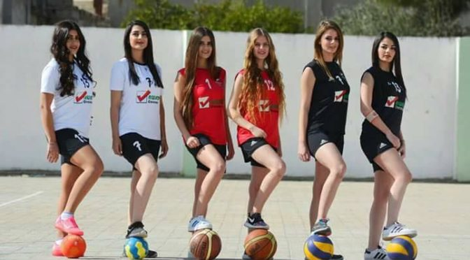 Syrian Women's Sports Team In Mhardeh, Hama Fights Takfiri Barbarism By Continuing To Play And Continuing To Live