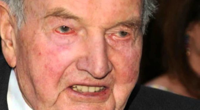 David Rockefeller Has Died And Gone To Hell But The JNWO He Helped Construct Still Needs To Be Overthrown