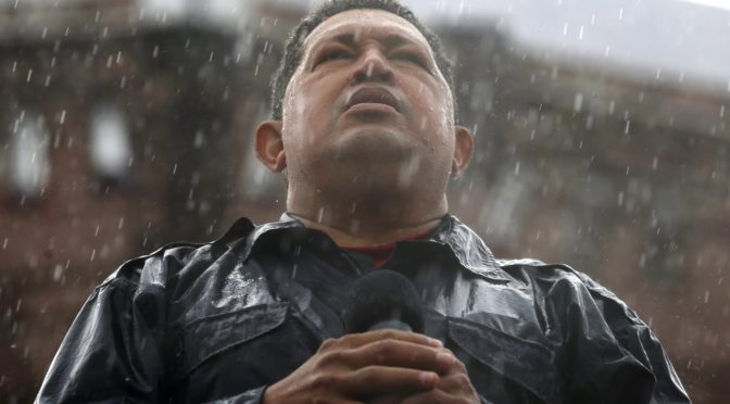 El Comandante Hugo Chavez Has Been Gone 4 Years Now But He Still Thunders Triumphantly In Our Hearts