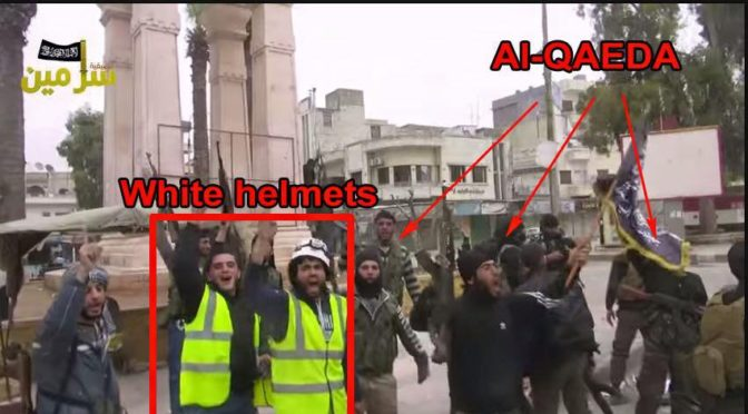 Don't Be Surprised That Zionist, Pedophile Hollywood Gave An Oscar To The Terrorist White Helmets