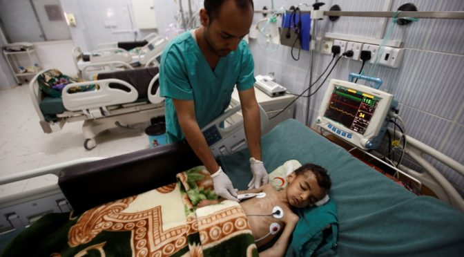 Cholera Crisis In Yemen Is A Deliberate Act Of Biological Warfare By Barbaric, Zionist Saudi Arabia