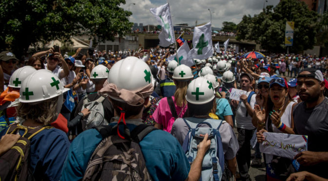 "Green Helmets and Violent Anti-Black Racists: Meet The Latest ""Revolutionaries"" Destabilizing Venezuela"