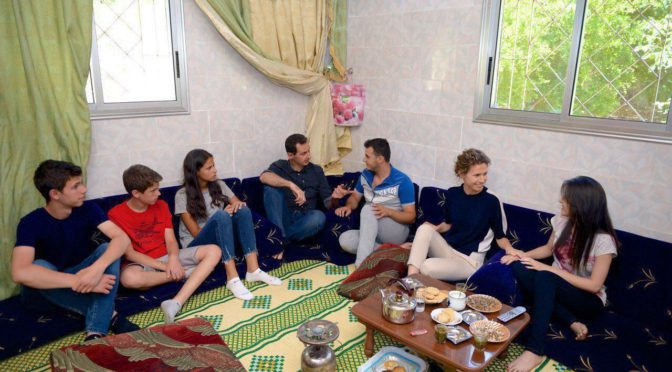 "President Assad's Visit To Wounded Syrian Soldiers In Hama Exposes And Flattens Western-Zionist ""Evil Dictator"" Propaganda"