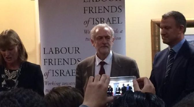 Jeremy Corbyn Is A Product Of Jewish-Zionist Politics And Should Not Be Trusted