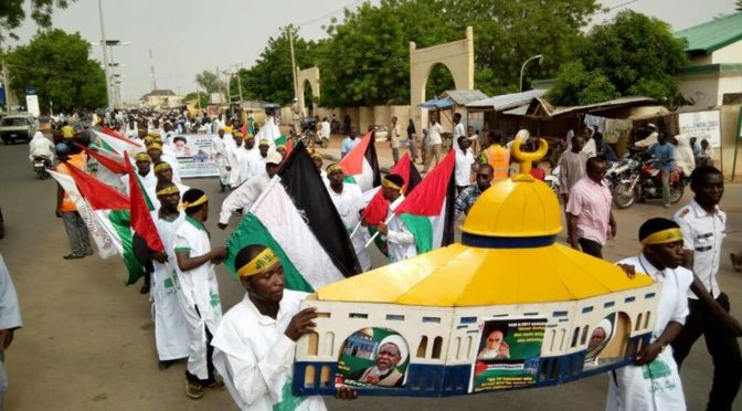 In Defiance of Buhari, the US and 'Israel', Zakzaky's Partisans Hold Al-Quds Day Rallies In Over 20 Nigerian Cities