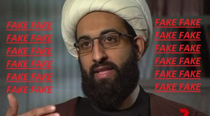 Zionist Agent Mohammad al-Tawhidi Exposed Further: Al-Mustafa University In Qom Confirms He Is A Fraud