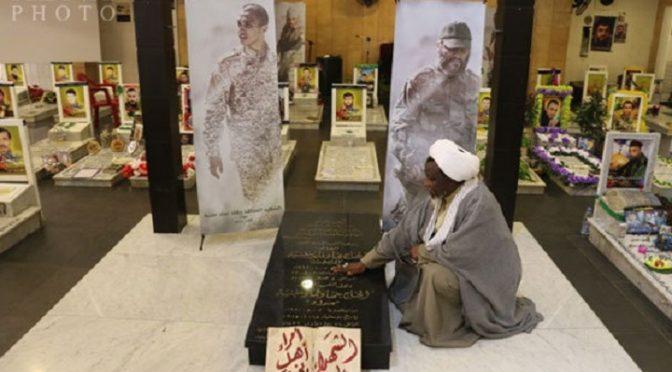 FLASHBACK: Sheikh Zakzaky Visits Tombs Of Hizbullah's Greatest Martyrs, Salutes Hajj Imad & Jihad Mughniyeh (R.A.) and Sayyed Hadi Nasrallah (R.A.)