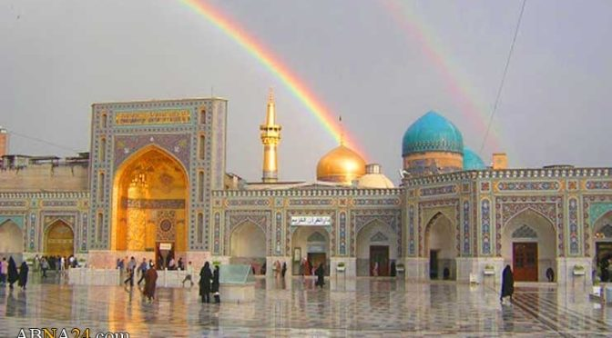Happy 1,253rd Birthday To Imam Reza (A.S.)! Remember His Example As We Confront The Tyrant Of Zionism Today!