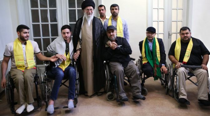 Simply Beautiful: Imam Khamenei Meets With Hizbullah Veterans Disabled In The 2006 July War