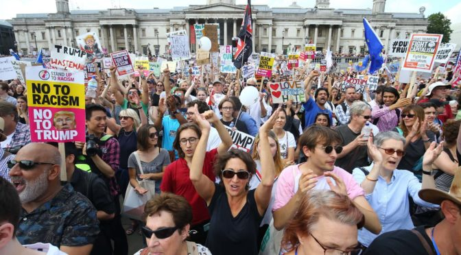 Degenerate London Anti-Trump Demos II: The Anti-Parasitic Demands You Won't Hear From These Tools