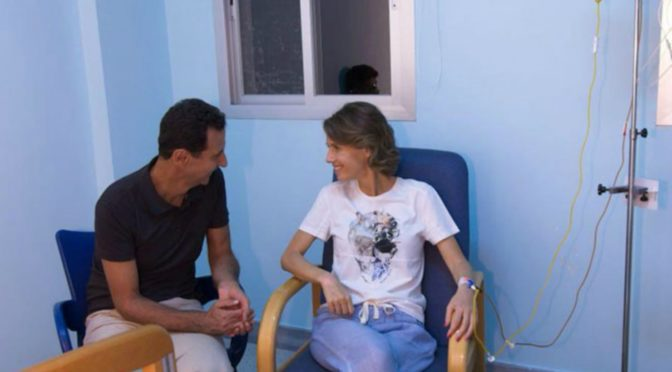 Syrian First Lady Asma al-Assad Helped Her Nation Defeat Zio-Takfiri Terrorism, She'll Beat Back Breast Cancer Too