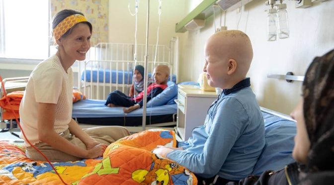 All Class: Syrian First Lady Asma al-Assad, While Fighting Her Own Cancer, Visits Children's Cancer Hospital In Jaramana