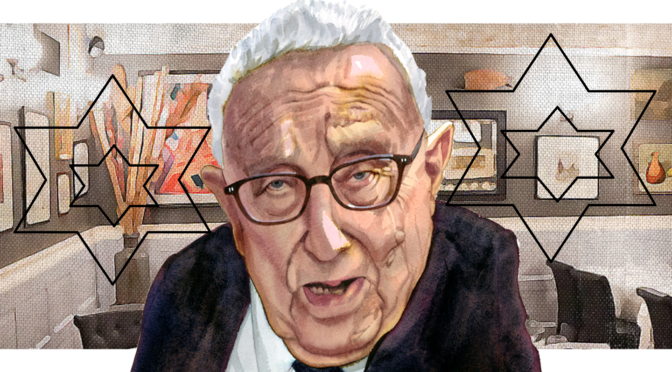 The Genocidal War Criminal At The Heart Of Two 9/11s: Zionist Jew Henry Kissinger