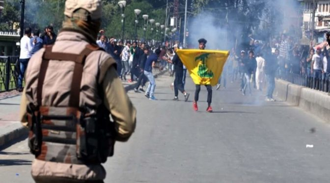While India's Modi Tweets About Imam Hussein (A.S.), His Occupation Army Brutalizes Ashoura Processions In Kashmir