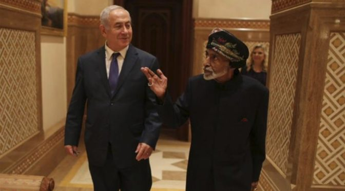 Omani Tyrant Qaboos Fraternizes With Baby-Killer Netanyahu, Exposing His Hypocrite Face Beyond Repair