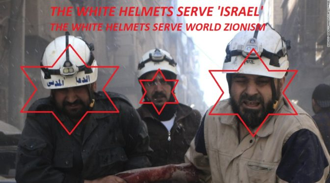 "All Zio, All Day: 'Israeli' Proxy White Helmets To Get Elie Wiesel Award From US ""Holocaust"" Memorial Museum"