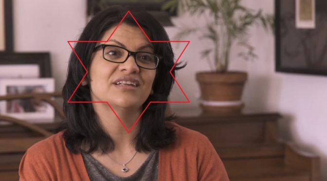"If House Arab Rashida Tlaib Was Brave, She'd Say ""Death To 'Israel'!"" and ""Zion Did 9/11"", Not ""Impeach That Motherf****r!"""