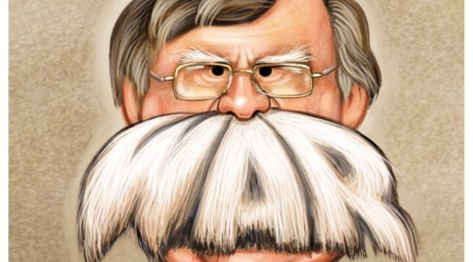 Yosemite Goy John Bolton Wants Nicaragua Decapitated, In Line With Four Decades Of US-Zionist War On Sandanismo