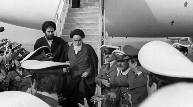 On The Wings Of Angels: A Poem For Imam Khomeini's (R.A.) Return To Iran 40 Years Ago Today