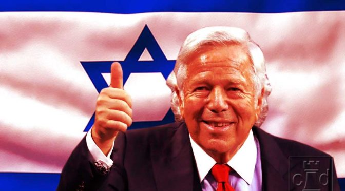 "Judaic Jaunt In Jupiter: Zionist Scoundrel Robert Kraft Soliciting Sex Is Exactly What The ""Torah"" Teaches"